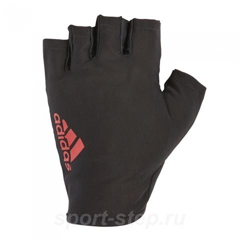 ADGB-12515 Перчатки женские для фитнеса Adidas Red - L