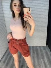 шорты с ремнем женские купить