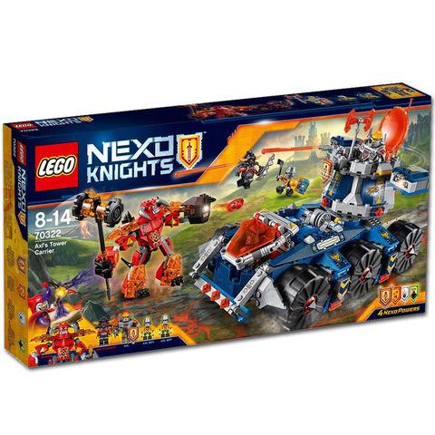 LEGO Nexo Knights: Башенный тягач Акселя 70322 — Axl's Tower Carrier — Лего Нексо Найтс Рыцари