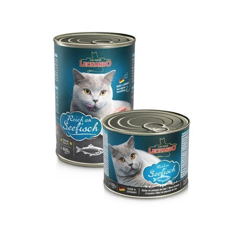 Влажный корм (банка) Leonardo Quality Selection Rich In Fish