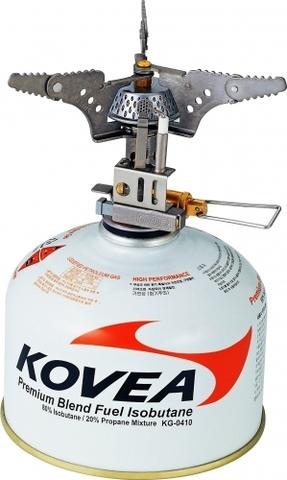 Картинка горелка туристическая Kovea компактная титановая КВ-0101