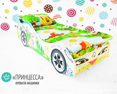 Кровать-машинка ПРИНЦЕССА