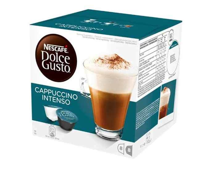 Кофе в капсулах Dolce Gusto Cappuccino Intenso, 16 капсул