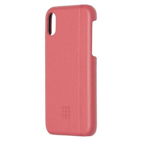 Чехол (клип-кейс) Moleskine для Apple iPhone X IPHXXX розовый (MO2CHPXD11)
