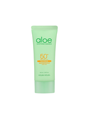 Солнцезащитный гель с алоэ, HOLIKA HOLIKA, Aloe Soothing Essence Face&Body Waterproof Sun Gel SPF 50+ PA ++++, 100мл