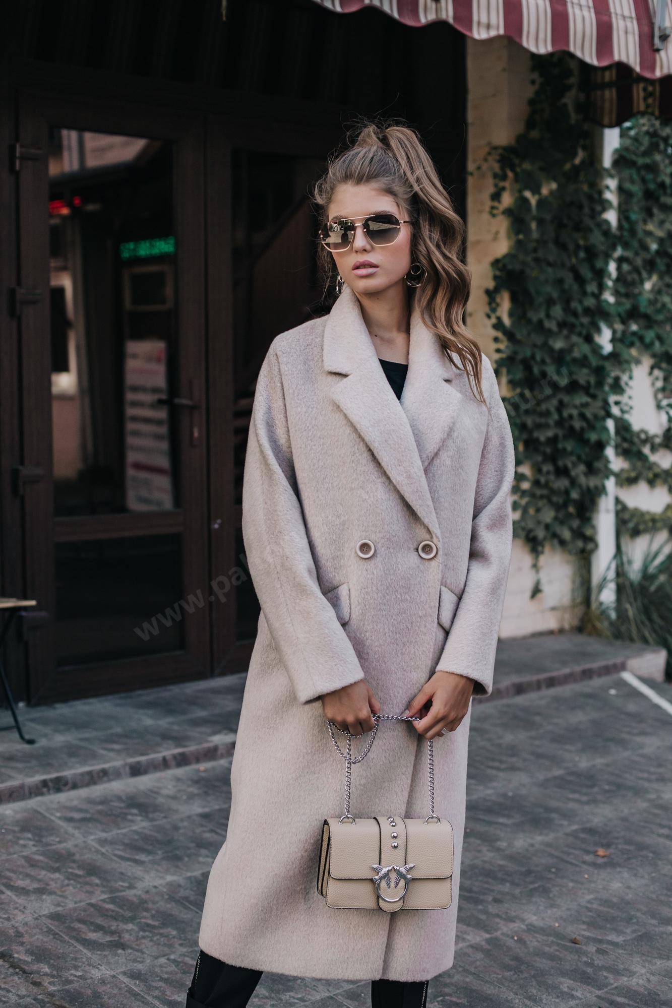 Пальто женcкое оверсайз