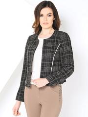 WJ3402V пиджак женский, черный