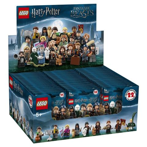 LEGO Minifigures: Гарри Поттер и Фантастические твари в ассортименте 71022 — Minifigure Harry Potter Series — Лего Минифигурки