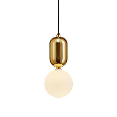 Подвесной светильник Aballs  by Parachilna (золотой, D20)