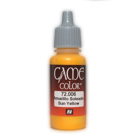 Game Color Sun Yellow 17 ml.