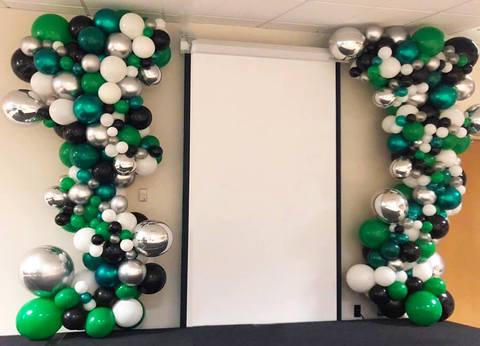 Оформление школы Зеленая волна