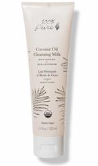 Органическое очищающее молочко-гель с кокосовым маслом, 100% Pure