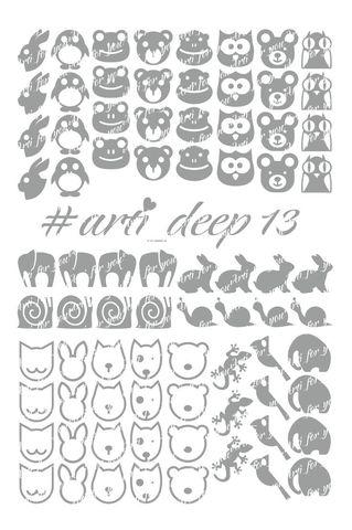 Трафарет Arti Deep № 13