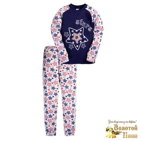 Пижама хлопок инт детская (6-9) 200905-МД6064