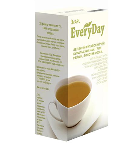 APL. Чай EVERYDAY GREEN