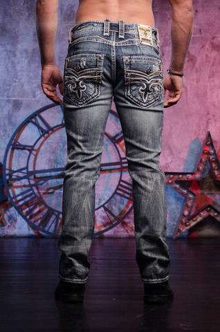 джинсы Rock Revival SHMUEL A204 ALT STRAIGHT CUT JEAN