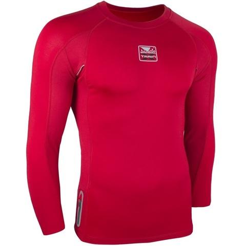 Рашгард Bad Boy X-Train Compression T-shirt Long Sleeves - Red&