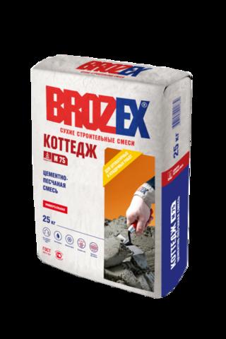 Цементно-песчаная смесь Брозекс Коттедж М 75 25 кг