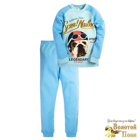 Пижама хлопок инт детская (6-9) 200905-МД6065