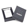 Зажигалка Zippo Scorpion с покрытием Brushed Chrome, латунь/сталь, серебристая, матовая, 36х12х56