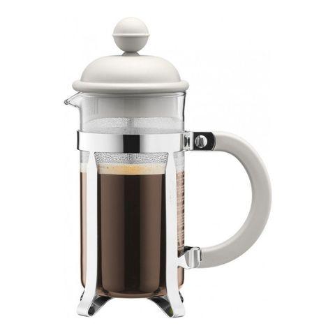 Кофейник френч-пресс Bodum Caffettiera, 0,35 л, цвет белый