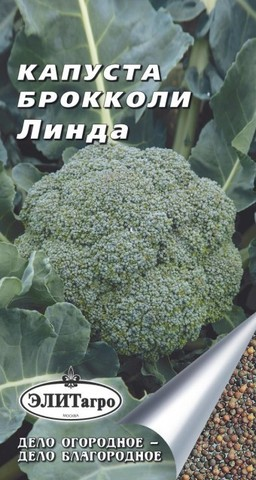 Семена Капуста брокколи Линда