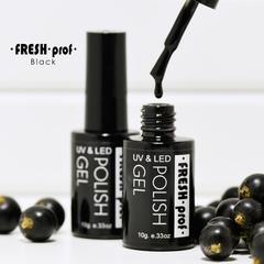 Гель лак Fresh Prof BLACK 10g