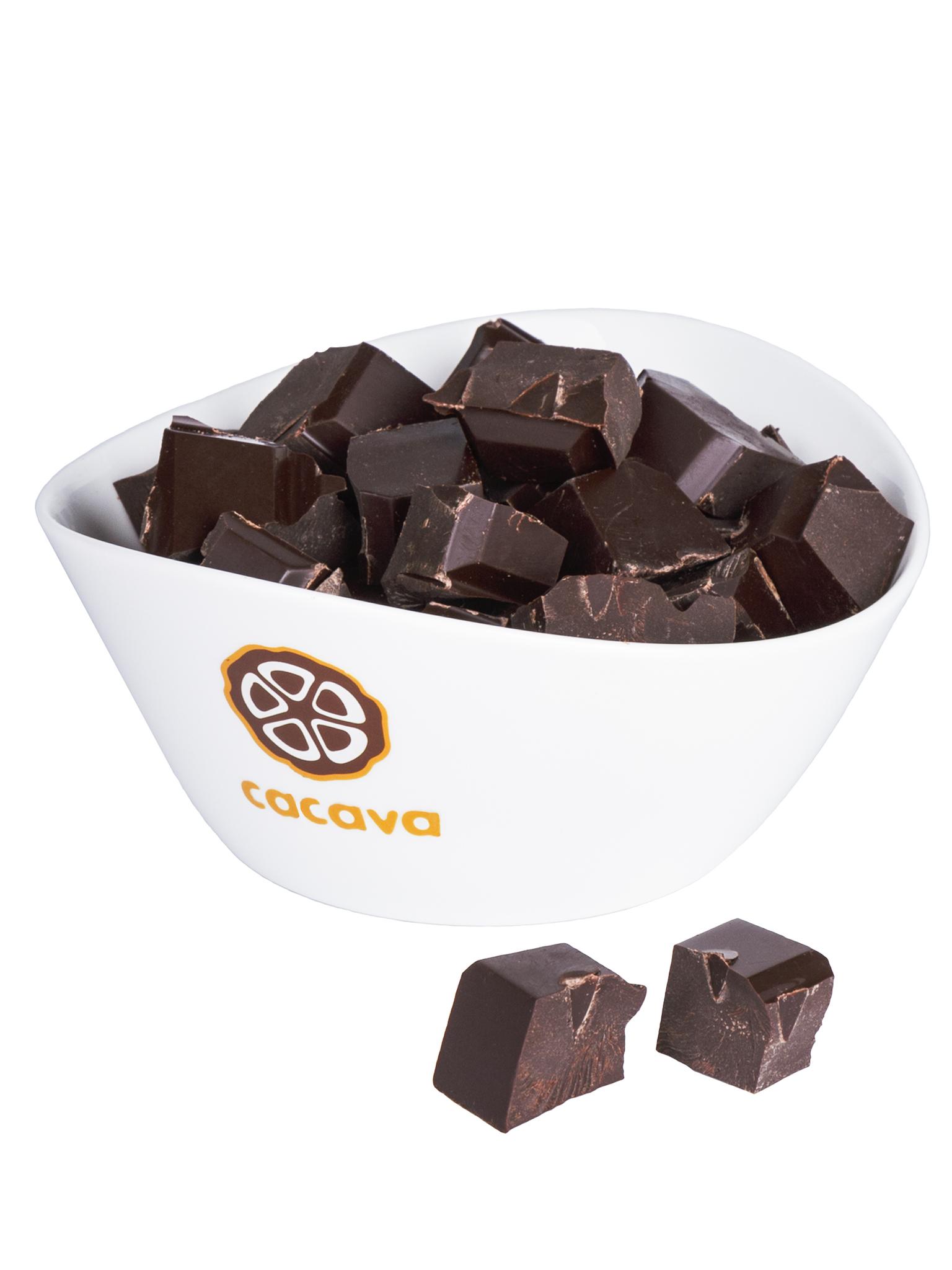 Тёмный шоколад 70 % какао (Панама), внешний вид