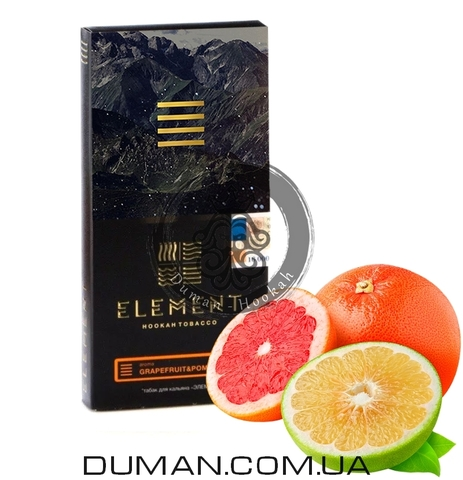 Табак Element Pomelo-Grapefruit (Помело-Грейпфрут) |Ground