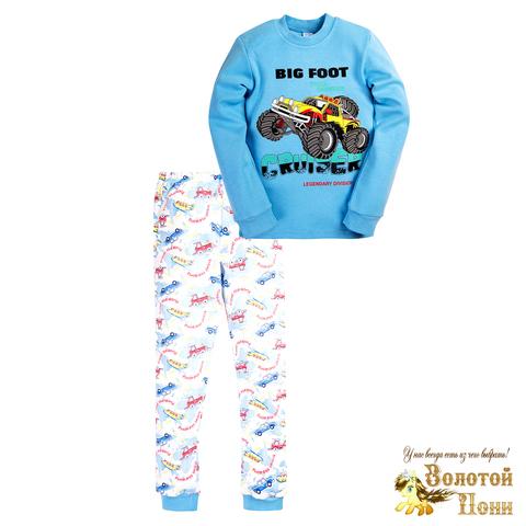 Пижама хлопок инт детская (6-9) 200905-МД6066