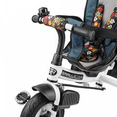 Детский трехколесный велосипед с надувными колёсами (морской цветок)