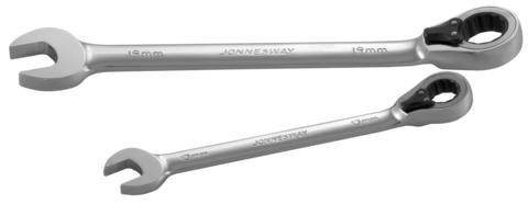 Ключ комбинированный трещоточный с реверсом, 14 мм