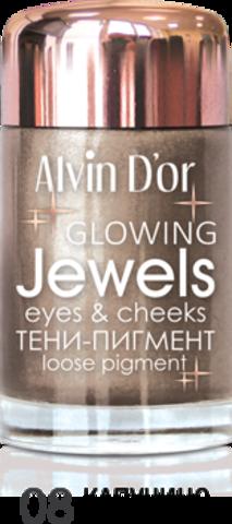 Alvin D`or Тени-пигмент для век Jewels  тон 08  AES-17 ,3г