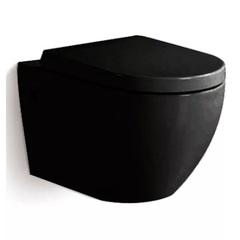 Унитаз Grossman GR-4411 черный подвесной безободковый