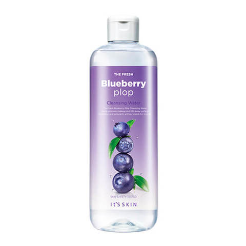 It's Skin The Fresh Plop Cleansing Water BlueberryМицеллярная вода