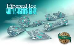 Wizard Set: Ethereal Ice & Burning Blue
