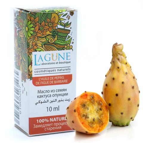 Масло из семян кактуса опунции / L'HUILE DE PEPINS DE FIGUE DE BARBARIE