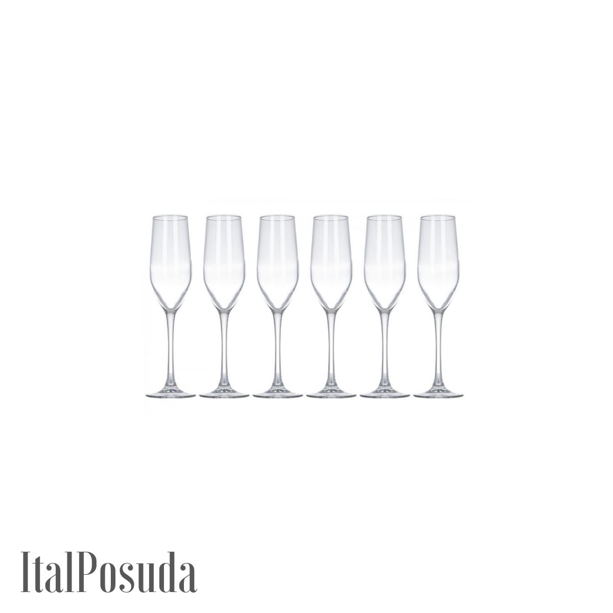 Набор фужеров для шампанского Luminarc Celeste (Селест), 6 шт L5829