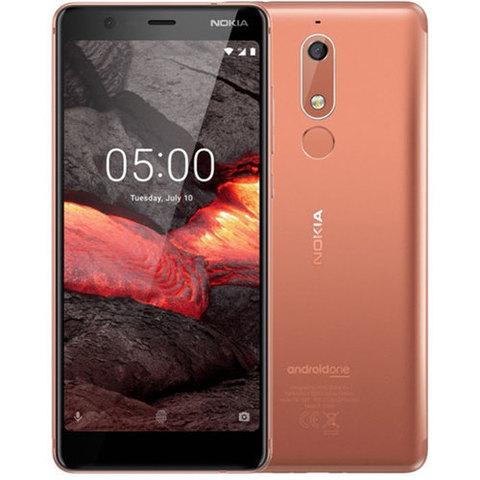 Смартфон Nokia 5.1 16GB Copper (Медный)