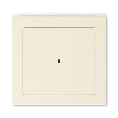 Лицевая панель карточного выключателя. Цвет Слоновая кость / белый. ABB. Levit(Левит). 2CHH590700A4017