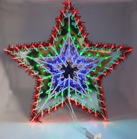 Звезда светодиодная пятиконечная 100LED
