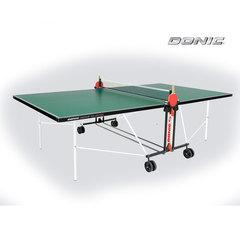 Теннисный стол DONIC INDOOR ROLLER FUN GREEN 19mm , с сеткой
