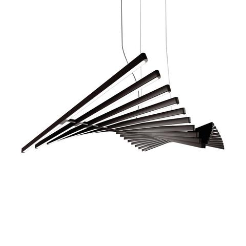 Подвесной светильник Rhythm by Vibia L190 (черный)