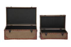 Набор из 2-х столиков-сундуков  Secret De Maison Бутик (BOUTIQUE)( mod. M-11073 ) — коричневый