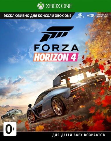 Forza Horizon 4  (GFP-00020) (Xbox One/Series X, русские субтитры)