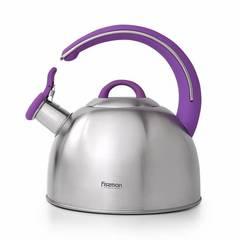 5951 FISSMAN Чайник для кипячения воды EMILY 2,6л (нерж.сталь)