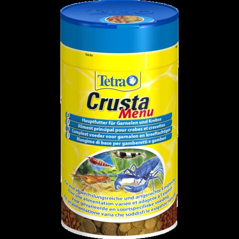 Tetra Crusta Menu (4-корма в одном) Основной корм для раков и креветок (Германия) 100мл