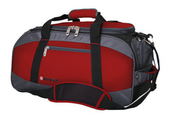 Сумка спортивная Wenger Mini Soft Duffle, красная, 52х25х30 см