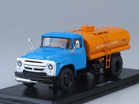 ZIL-130 TSV-6 blue-orange 1:43 Start Scale Models (SSM)