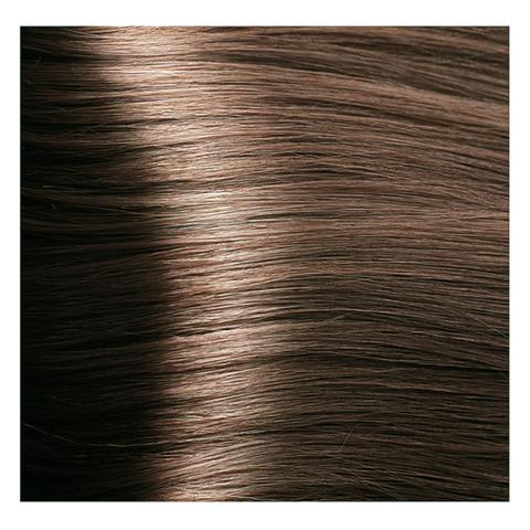 Крем краска для волос с гиалуроновой кислотой Kapous, 100 мл - HY 7.23  Блондин перламутровый